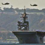 USS American during Fleet Week 2016