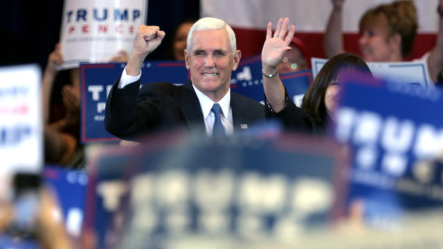 Mike Pence. Photo via Wikimedia Commons