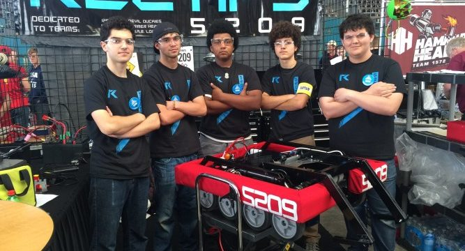 The Warrior robotics team from High Tech High Media Arts in Pt. Loma will be among the makers displaying their work.