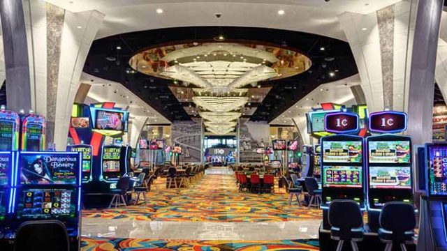 Hollywood Casino Jamul interior. Photo via hollywoodcasinojamul.com