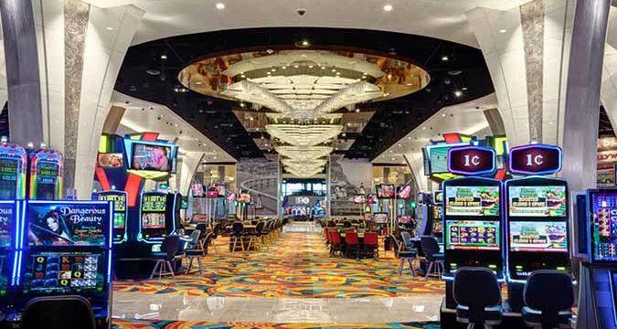 Hollywood Casino Jamul interior. Photo via hollywoodcasinojamul.com