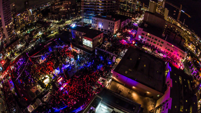 The annual Dos Equis Monster Bash takes over the Gaslamp Quarter. Courtesy of the event