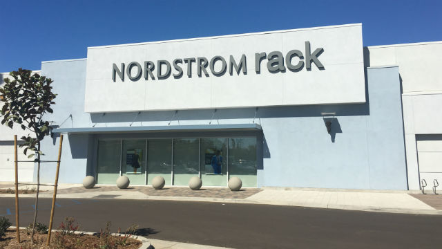 The Nordstrom Rack store in La Jolla Village a few days prior to opening.