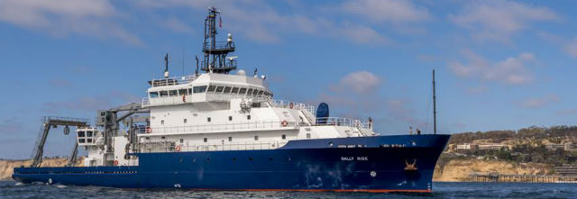The R/V Sally Ride. Courtesy Scripps Institution of Oceanography