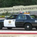 SDSU police cruiser