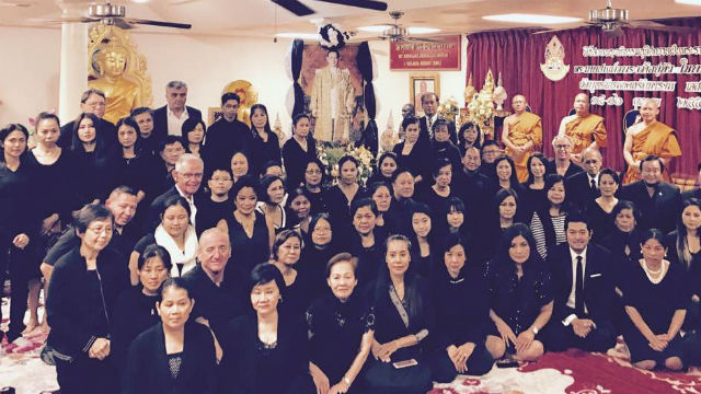 San Diego's Thai community mourns the king's passing.