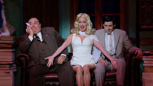 "A scene from ""The Producers"" by San Diego Musical Theatre."
