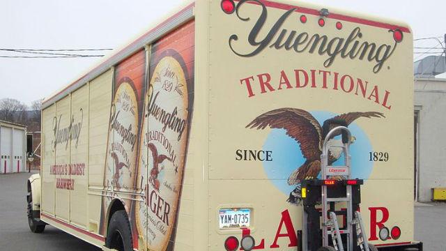 A Yuengling truck. Photo via Wikimedia Commons