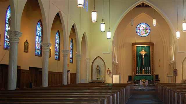 Sanctuary of St. John the Evangelist Roman Catholic Church