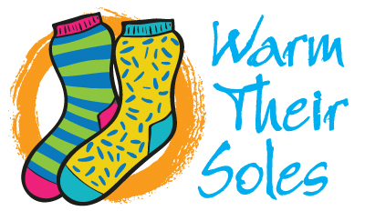 Warm Their Soles campaign logo. Courtesy image.