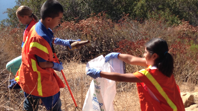 The U.S. Environmental Protection Agency has awarded an environmental education grant of $90,000 to San Elijo Lagoon Conservancy in Encinitas to improve environmental science education by focusing on nature and conservation through a watershed project. Photo courtesy: EPA.