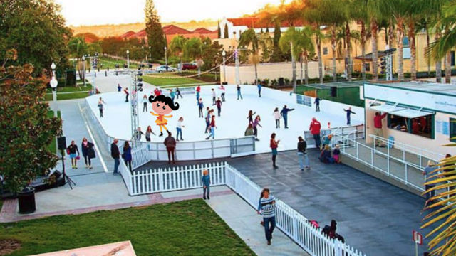 Fantasy on Ice at Liberty Station.