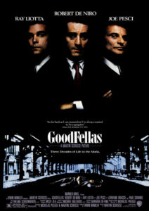 """Goodfellas"" movie poster from 1990 original. Image via Wikimedia Commons"