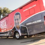 Rep. Darrell Issa's 2016 campaign bus