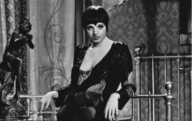 "Liza Minnelli as Sally Bowles from the 1972 film ""Cabaret."" Photo via Wikimedia Commons"