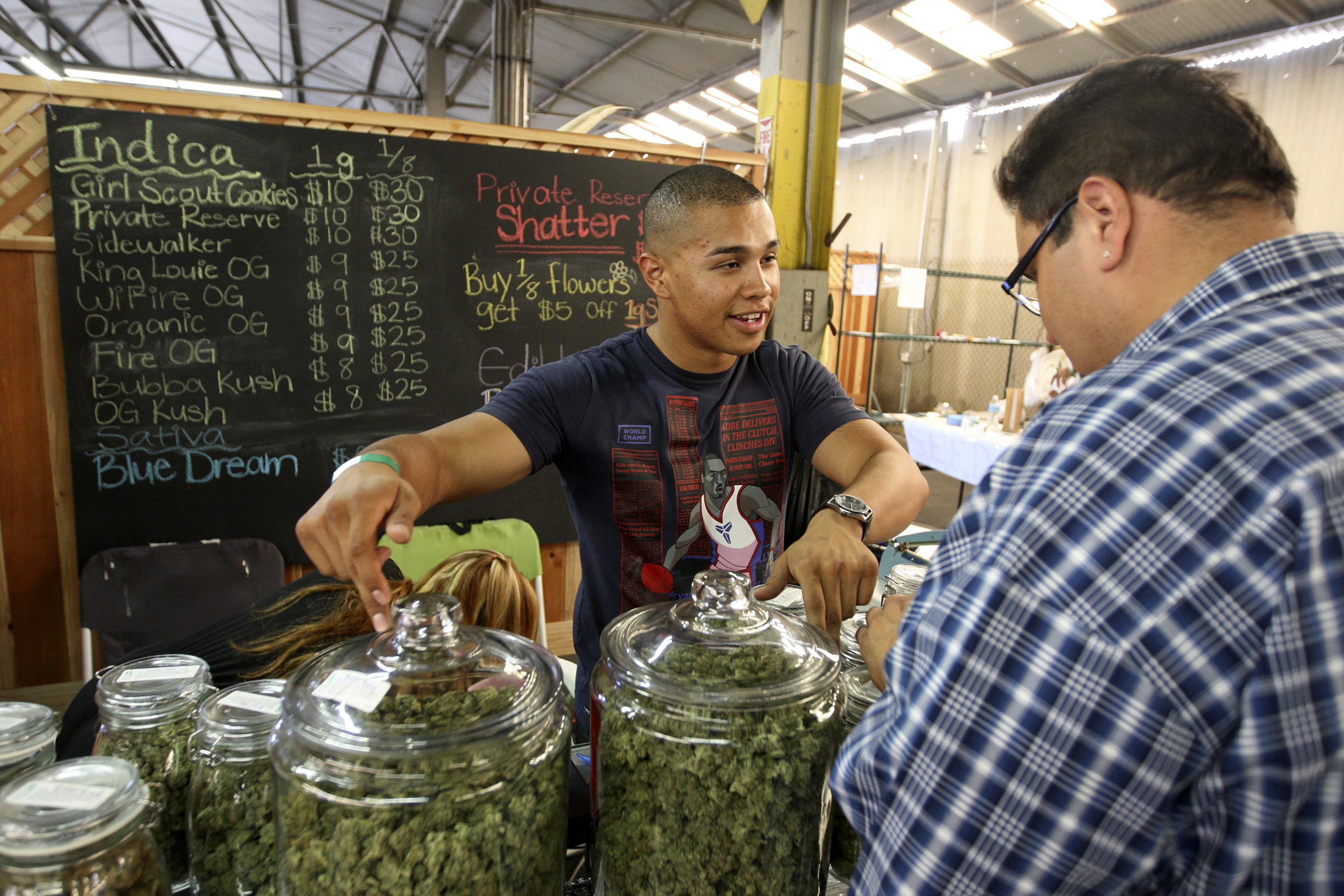 Despite Marijuana Legalization, California Black Market