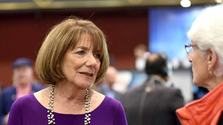 Democratic Rep. Susan Davis of the 53rd Congressional District won an eighth term in Washington. Photo by Chris Stone