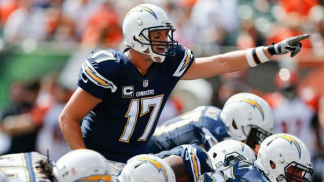 Chargers Quarterback Philip Rivers Medically Cleared For