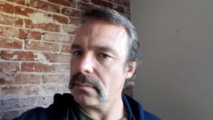Ron Donoho, who grows a mustache as part of Movember events. Photo via Facebook