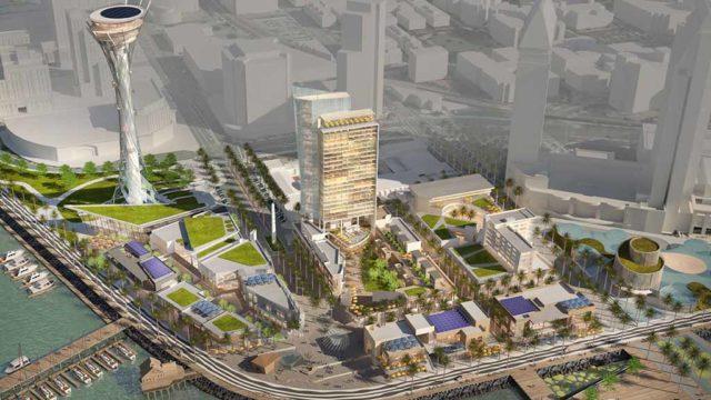 Seaport San Diego  plan for Seaport Village area. Image via 1HW1