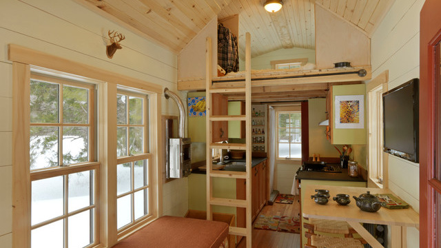 Marvelous The Interior Of A Tiny House. Tiny House: Photo By Cushman Design Group,