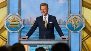 Scientology leader David Miscavige speaks at dedication of remodeled San Diego church. Photo via Church of Scientology