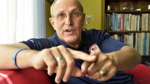 Tracy Sundlun, son of a former Rhode Island governor, began building marathon series in 1997. Photo by Ken Stone
