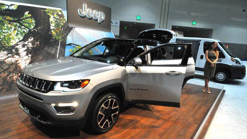 2017 Jeep Compass. Photo by Chris Stone