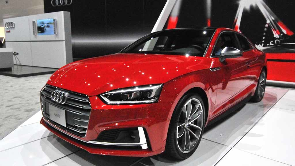 2018 Audi S5 Coupe. Photo by Chris Stone