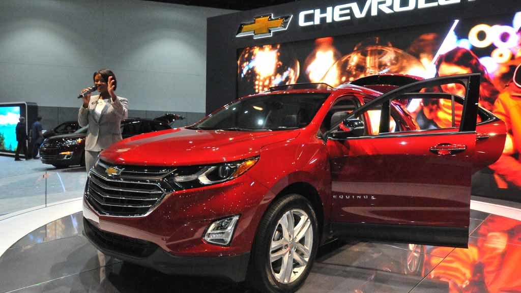 2018 Chevrolet Equinox. Photo by Chris Stone