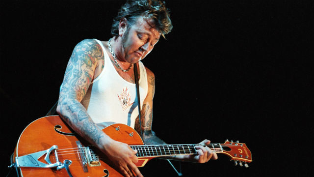 Ex-Stray Cat Brian Setzer will perform at the Belly-Up Tavern in Solana Beach on New Year's Eve. Photo via Wikimedia Commons