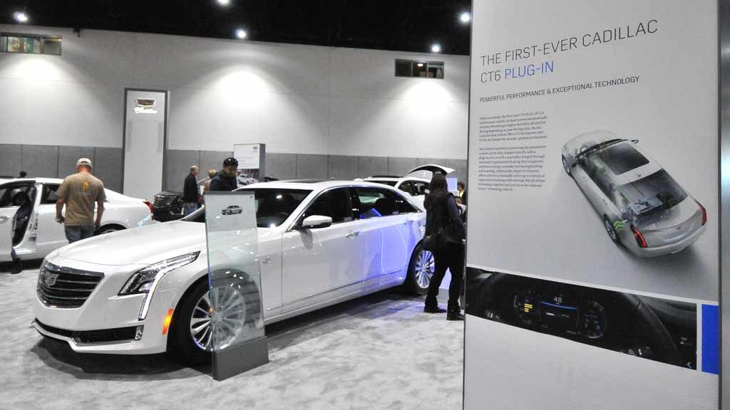 Cadillac CT6 Plug-in Hybrid. Photo by Chris Stone