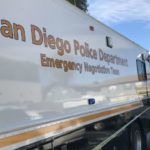 San Diego Police vehicle