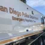 San Diego Police vehicle