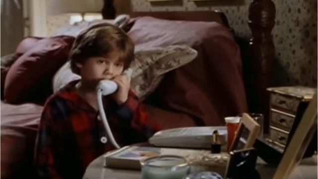 "A scene from ""Home Alone 3."" Image from trailer"