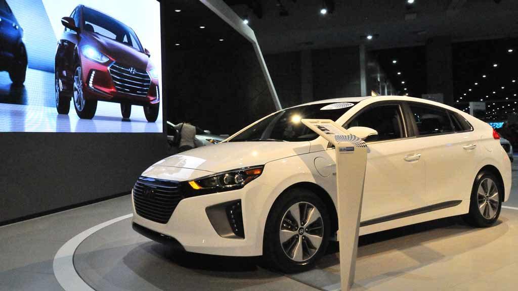 Hyundai Ioniq. Photo by Chris Stone