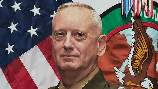 James Mattis. Marine Corps photo