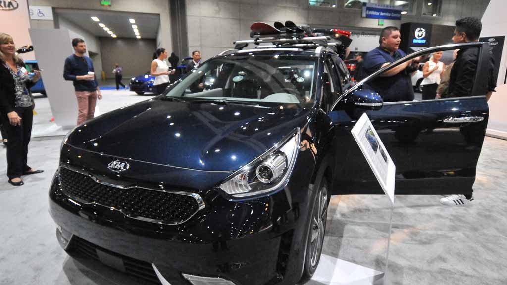 Kia Niro Hybrid. Photo by Chris Stone