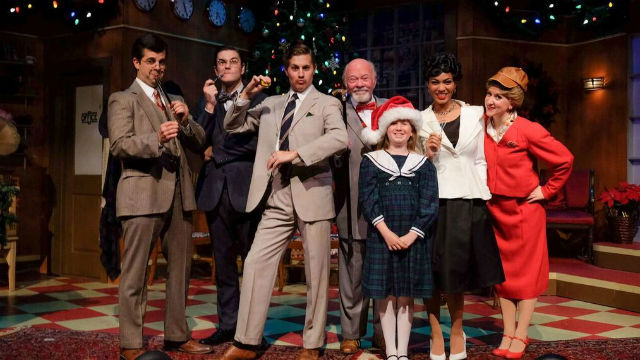 "The cast of ""Miracle on 34th Street' by San Diego Musical Theatre."