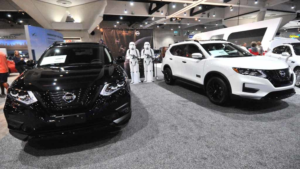 Nissan Rogue One Star Wars Limited Edition. Photo by Chris Stone