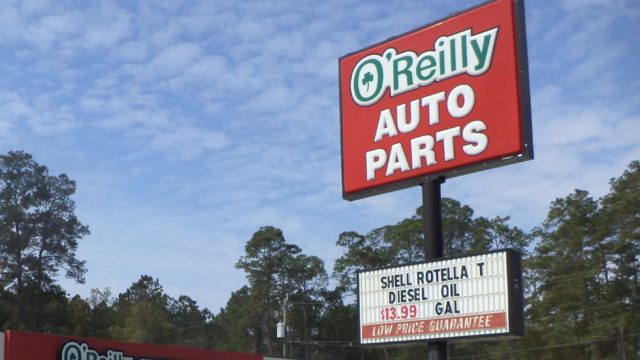 O'Reilly Auto Parts. Photo: Wiki Commons