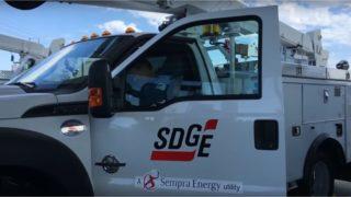 SDG&E truck