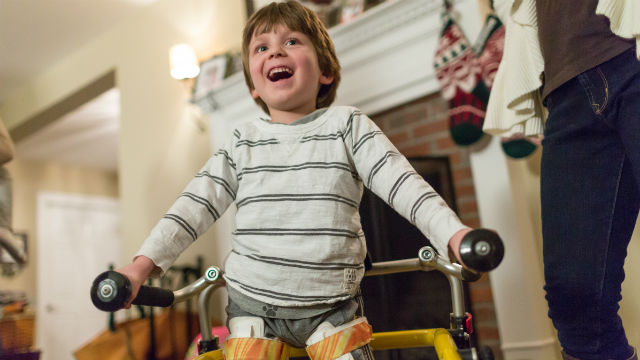 Braeden Farrell, who has spinal muscular atrophy. Photo courtesy Biogen