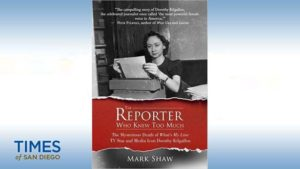 "Mark Shaw's book: ""The Reporter Who Knew Too Much."""
