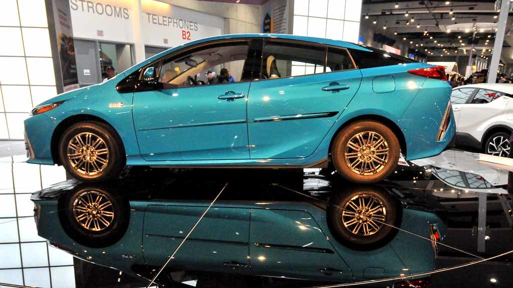 Toyota Prius Prime. Photo by Chris Stone