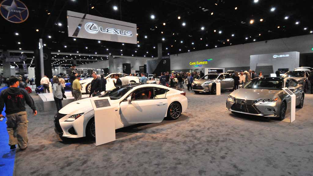 See The Future Now Auto Shows Stunners Times Of San Diego - San diego car show schedule