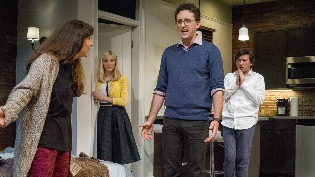 "A scene from ""Bad Jews"" at Cygnet Theatre."