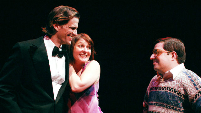 """A scene from """"Beau Jest"""" at Lamb's Players Theatre."""