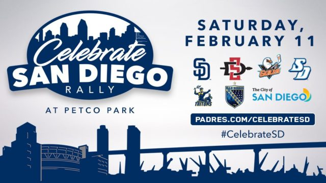 Celebrate San Diego Rally Poster