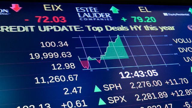 The Dow came very close to closing above 20,000 on Friday, Jan. 6. Courtesy New York Stock Exchange